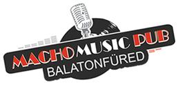 Macho Music Pub Balatonfüred - logo