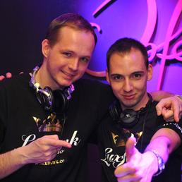 DJ Gem B és DJ Sampler (Luxfunk DJ-k)