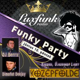 Szabadtéri Luxfunk Party Szegeden