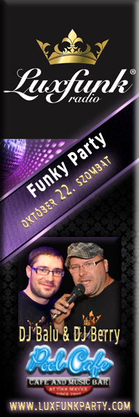 Luxfunk Radio Funky Party - Balassagyarmat, Pool Music Cafe, 2011. október 22.