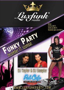 Luxfunk Radio Funky Party - Balassagyarmat 111217, Pool Cafe
