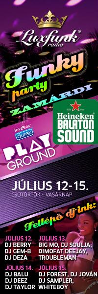Luxfunk Radio Funky Party - Balaton Sound, Durex Playground