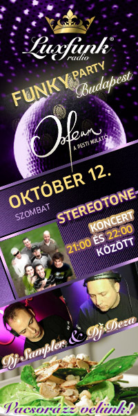 Luxfunk Radio Funky Party + Stereotone koncert 2012.10.12.