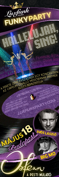 Luxfunk Radio Funky Party 2013.05.18. Orfeum Club, Budapest