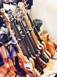 Temesi Berci gitárjai (interjúhoz)
