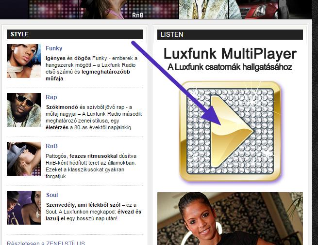 Luxfunk Blackmix hallgatás 1