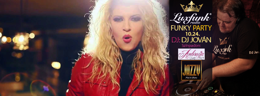 Luxfunk party + Ambrózia Live Act koncert 2015.10.24. @ Jazzy Pub