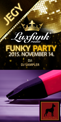 Luxfunk Party 2015.11.14. - jegy