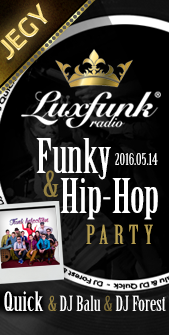 Luxfunk Party jegy 2016.05.14.