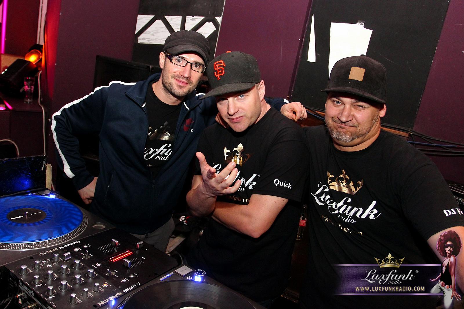 DJ Balu, DJ Quick, DJ Forest @ Luxfunk Funky & HipHop Party 2016.05.14.