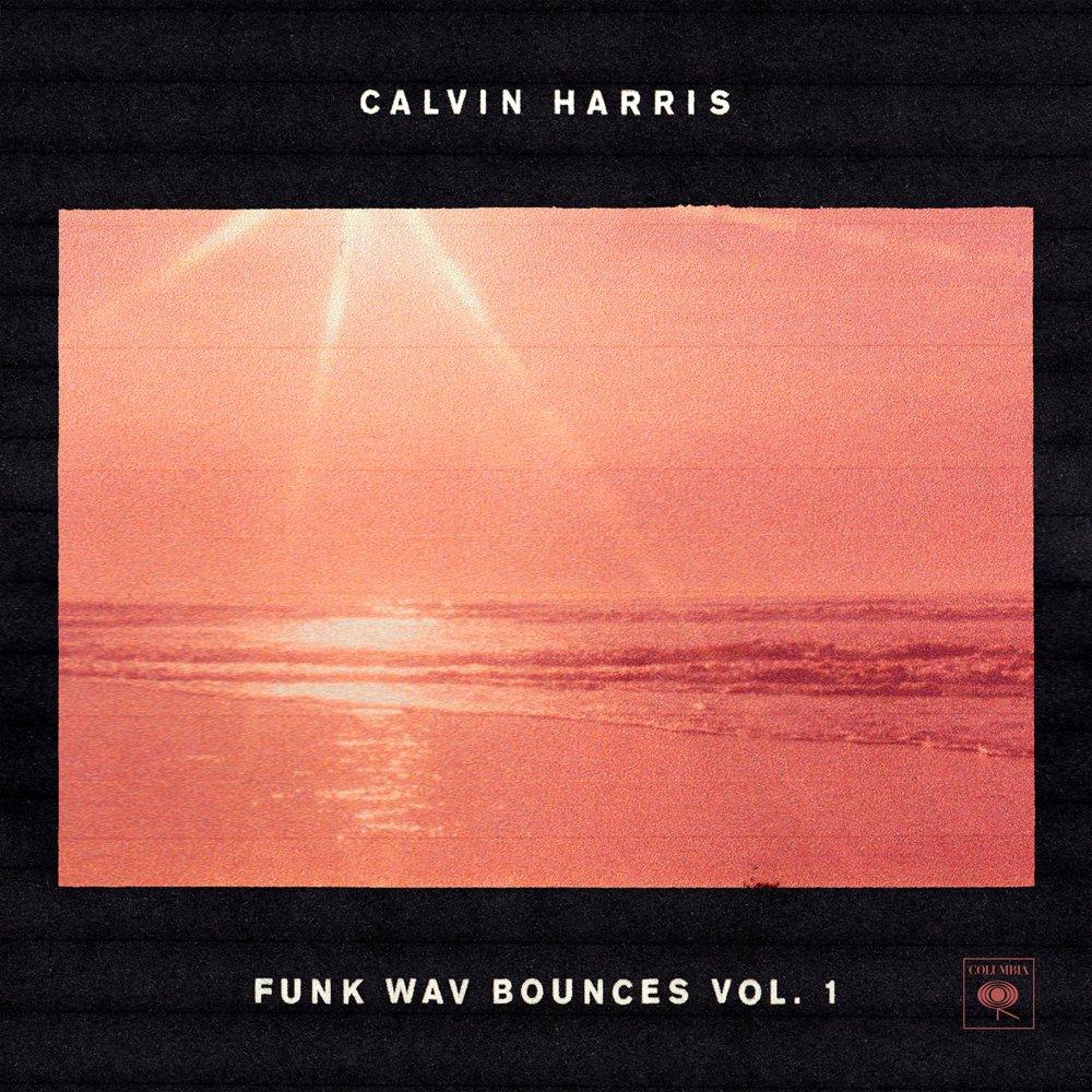 Calvin Harris - Funk Bounces albumcover