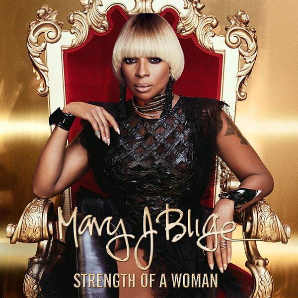 Mary J Blige - Strength Of A Woman album cover