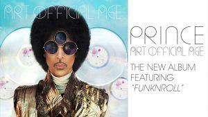 Prince - Art Official Age album - Funknroll