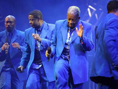 "Winfred ""Blue"" Lovett - The Manhattans"